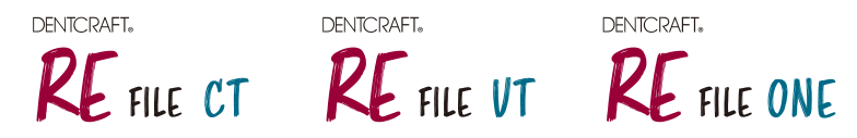 DENTACRAFT RE ファイル CT | DENTACRAFT RE ファイル VT | DENTACRAFT RE ファイル ONE