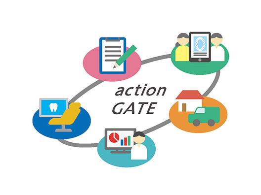 action GATE システムM